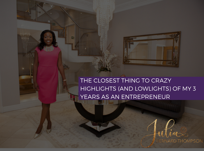 The Closest thing to Crazy-Highlights (and Lowlights) of my 3 years as an entrepreneur.
