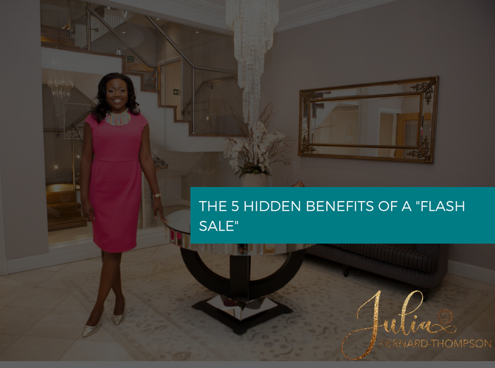 "The 5 hidden benefits of a ""flash sale"""