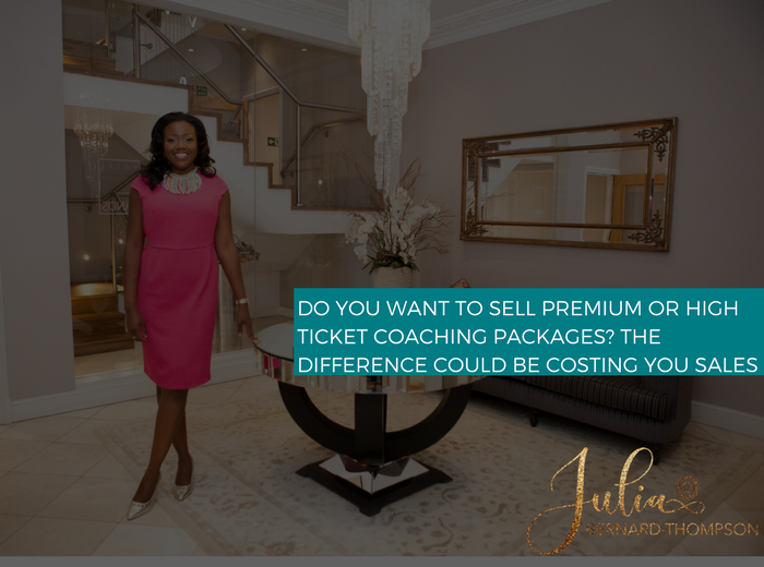 Premium or High-ticket Packages?