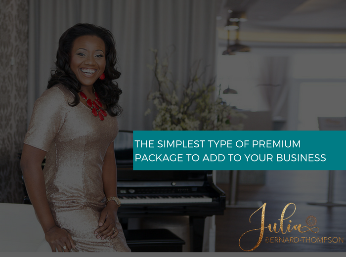 Short Launch time, Big Profits: The simplest type of Premium Package to add to your coaching or consultancy business