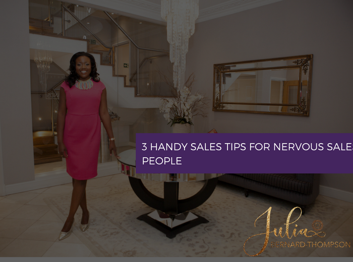 3 Handy Sales Tips for Nervous Sales People